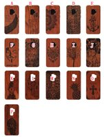 Wholesale iphone solid wood case for sale – best Solid Wood TPU Hard PC Case For Iphone XR X XS Max SE S S Plus OnePlus T T Cartoon Wooden Totem Cell Phone Skin Cover