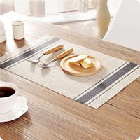 ingrosso pvc giapponese-VOGVIGO stile giapponese PVC impermeabile Materasso casa occidentale materasso isolante stuoia del rilievo Piatto Tavolo Mat Anti-caldo