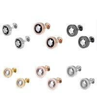 ingrosso piccoli gemelli-Gioielli di alta qualità Mens Designer Camicia francese Gemelli Gemelli piccoli Matrimonio di lusso Padre Groom Groomsmen Regalo Gemelli Ornamenti