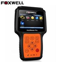 ingrosso obdii scanner srs-Foxwell NT624 Pro OBDII OBDII Scanner per auto Tutti i sistemi ABS Airbag SRS EPB Reset olio Trasmissione del motore OBD2 Strumento diagnostico