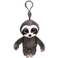 etek oyuncakları toptan satış-Ty Bere Boos Büyük Gözler Peluş Dangler Tembellik Anahtarlık Oyuncak Bebek