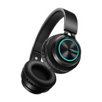 pc için bluetooth kulaklıklar toptan satış-Kablosuz Gaming Headset Bluetooth Kulaklıklar için Destek ile 7 renkler Parlayan Kulaklık Telefon PC MP3 Cep Telefonu için Koşu ...