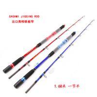 Hot Sale! Lurekiller Brand NewJigging rod High Carbon 37kgs Jig Master boat rod 1.68m 2 sections ocean game