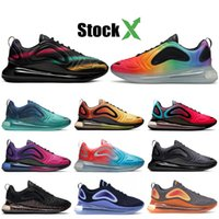 Wholesale running shoe china resale online - Mens Womens Designer Sneakers Most Popular Northen Lights Night BE TRUE Triple Black Sunset China Space Throwback Future Running Shoes