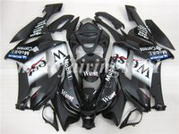 ingrosso abs zavorra zx 636-4Gifts Set di carenature per carrozzerie ABS personalizzate personalizzate per KAWASAKI Ninja ZX-6R 07 08 ZX-636 ZX636 ZX6R 2007 2008 ZX 636 Nice West