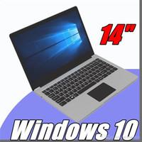 Wholesale 14 inch laptop ultrabook resale online - 2018 inch mini laptop computer Windows G GB RAM G GB emmc Ultrabook tablet laptop with lowest price