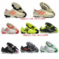 d84a36d5fad 2019 mens soccer cleats Copa 19.1 FG AG soccer shoes Champagne Lace-Up football  boots outdoor Tacos de futbol high quality new arrival
