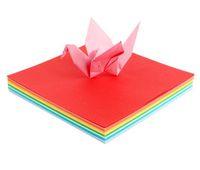 ручная розовая бумага оптовых-A4 80 г цветной бумаги ручной работы дети цветной бумаги квадратный детский сад оригами материал розовая бумага