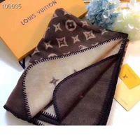 Wholesale plain blankets resale online - Newest High qualtiy Brands Blanket winter womens Scarf high quality Thick designers Blanket Scarves size x140cm