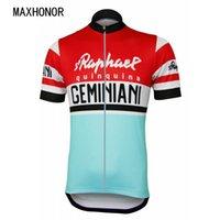 italien kleidung großhandel-rot und blau Reit Radtrikot Radsportbekleidung Italia Mountainbike-Rennen tragen kurzärmelige Straße