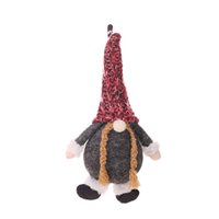 Wholesale puppet sale resale online - 1 x12cm Christmas Small Toy Puppet Doll Pendant Home Tree Hanging Decor Ornament New Hot Sale