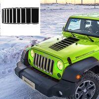 voiture couleur armée achat en gros de-Autocollant de capot de voiture pour Jeep JK TJ YJ Auto rayures autocollant de vinyle autocollant Body Decor Stickers extérieur autocollant de voiture armée