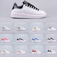 самые продаваемые дизайнерские туфли оптовых-2019 вся сеть горячая продажа скидка высокое качество дизайнерская обувь мужчины и Женщины Повседневная обувь Белая обувь размер 35-44