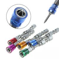 conjunto de herramientas de broca de destornillador al por mayor-5Pcs 65MM Destornillador magnético de cabeza única Bit Antideslizante Hex PH2 Destornillador eléctrico Set para herramientas eléctricas