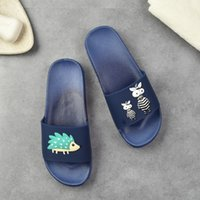 Wholesale eva slippers for men resale online - size268 Top quality shoes Fashion slide sandals slippers for mens WITH ORIGINAL BOX Hot selling unisex flip flops slipper mens outdoor shoes