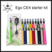 Wholesale mini ego ce4 kit electronic for sale - Group buy Ego starter kit CE4 atomizer Electronic cigarette e cig kit mah mah mah EGO T battery blister Clearomizer vs mini k kit