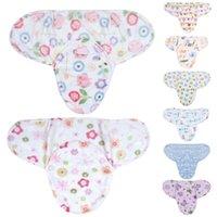 fleece-stoff für baby-decken großhandel-Babydecke Swaddle Wrap Babyschlafsack Säuglingsbettwäsche Winterschlafsack Polar Fleece Stoffumschläge Soft Swaddling