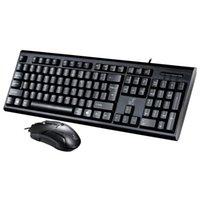 teclado leopardo al por mayor-Leopard Chasing Light Q9 Teclado con cable y mouse Set P + U-Optical Mouse y Keyboard Set una gran cantidad de accesorios al por mayor