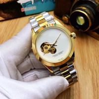 esportes de cerâmica venda por atacado-Top Luxo Mestre Cerâmica Bezel Mens Relógios Glide Fecho Fecho Pulseira Automática Famosa 3A Relógio Esportes Coroa Relógio De Pulso Orologio Reloj