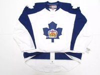 ingrosso pullover hockey autentico ccm vintage-Cheap personalizzato TORONTO MARLIES AHL AUTHENTIC THIRD CCM PRO EDGE 2.0 7287 HOCKEY JERSEY Mens maglie Vintage