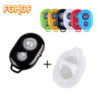 Wholesale iphone bluetooth remote shutter control resale online - FGHGF Bluetooth Phone Self Timer Shutter Button for iPhone selfie stick Shutter Release Wireless Remote Control for Huawei