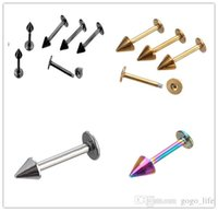 Wholesale 1PC Surgical Stainless Steel Body Piercing Jewelry