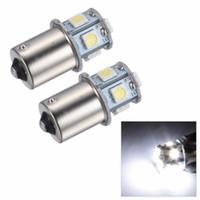 10X 1156 BA15S 1157 BAY15D P21 5W 8SMD 5050 Car Led Lights Brake Tail Lamps 8SMD Auto Rear Reverse Bulbs DC 12V