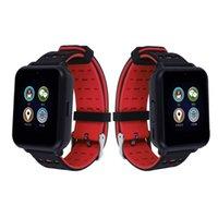 nano saatler toptan satış-Z2 Akıllı İzle Erkekler Spor Bilezik Izci Telefon Desteği Nano SIM Kart Pedometre Uyku Monitör Spor Smartwatch Saatı
