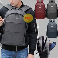 Wholesale Multi layer Large capacity Fashion Waterproof and Breathable Backpack Suitable for Boys and Girls School Students USB Charging Backpack