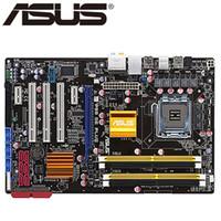 usar placa base al por mayor-Asus P5Q SE PLUS Desktop Motherboard P45 Socket LGA 775 Para Core 2 Duo Quad DDR2 16G UEFI BIOS Original utiliza placa base en venta