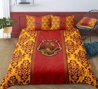 Wholesale green twin bedding sets for sale - Group buy Thumbedding Harry Potter Bedding Set Lion Yellow Floral Duvet Cover Set Queen Twin Full Single Double Animal Bed Set With Pillowcases