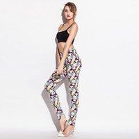 üçgen tozluklar toptan satış-Kadın Moda Legging Üçgen Baskılı Çok Renkli Katı Bayanlar Casual tayt İnce Yüksek Bel Tayt Kadın Sıska Pantolon