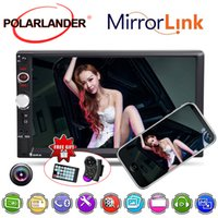 Wholesale player flac resale online - Rear View Camera Handsfree screen system DIN Radio MP3 WMA WAV MKV FLAC OGG APE HD inch car MP5 player D