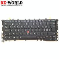 thinkpad yoga großhandel-Neue Original CH Swiss Backlit Tastatur für Thinkpad S1 Yoga Yoga 12 Backight Teclado 04Y2647 04Y2943