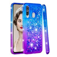 Wholesale star huawei resale online - Gradient Liquid Quicksand Case For Samsung Galaxy A9s A9 Star Pro A6 A750 Soft Tpu Case Cover for Samsung J8 J7 J6 J4 J3 J720 J520 J327