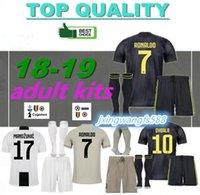 ingrosso camicie di migliore qualità-Maglia da calcio RONALDO ADULT KIT 2018 2019 DYBALA BERNARDESCHI MANDZUKIC D. Costa 18 19 Maglia da calcio RONALDO qualità migliore