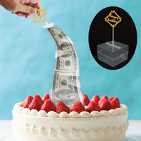 Wholesale funny money boxes for sale - Group buy Funny Cake Money Box Pulling Making Mold Cake Money Box Money Pulling Cake Making Mold Food Contact Safe