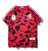 homens hiphop camisetas venda por atacado-T shirt Mulheres Homens T camisas tees Hiphop Streetwear Homens de Manga Curta de Algodão camiseta