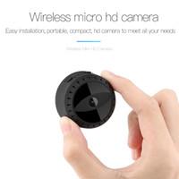 mini cámara de mano al por mayor-Wifi Mini Cámara IP A10 HD 1080P Visión Nocturna Cámara MINI DV Seguridad para el Hogar Cámara de Detección de Movimiento Portátil Magnética Portátil DVR
