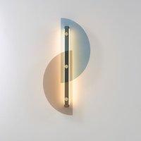 nordic wandleuchte großhandel-Nordic Wohnzimmer Wand Schlafzimmer Nacht Modell Raum kreative einfache Glaswandleuchte