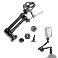 Wholesale adjustable light clamp for sale - Group buy 7 quot quot Adjustable Friction Articulating Magic Arm Super Clamp For Viltrox Monitor DC EX DC HD LED Light L132T L116T L162T