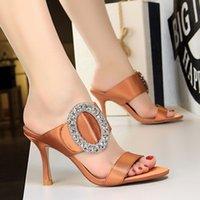 ingrosso sandali neri rosa-Vendita calda-scivoli pantofole donna sandali estivi moda donna pantofola pantofola scivoli neri scarpe donna zapatos de mujer chaussures femme