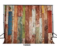cenário de foto de vinil de tijolo venda por atacado-Vinil Personalizado Fotografia Backdrops Prop Tijolo piso da parede tema Photo Studio Fundo JLT-10404