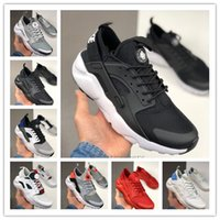 Wholesale black huarache for sale - Group buy 2020 Men Women Huarache Classical Triple White Black Red Running Shoes Schuhe Breathable Mesh Sports Sneaker Trainers Size