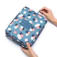 Portable Travel Makeup Bag Cosmetic Case Organizer Storage Bag Cosmetics Make up Brushes Waterproof Toiletry Bags Women Girls Men