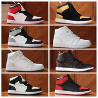 Wholesale d size shoes online - New High Bred Toe Banned Running Shoes Men Women s Mid Top Shadow Panther line Sneakers Sport Shoes Size