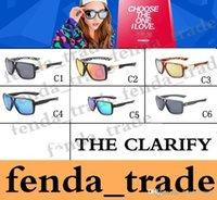 Wholesale Polarized Clarify Sunglasses men Classic Fashion FULL Square Sunglasses Men Brand Dersigner FX Goggle Eyewear Male Sun Glasses Oculos UV400
