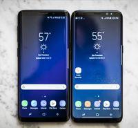ingrosso negozio di telefoni cellulari android-6.2 pollici Full Screen Goophone 9 Plus Android 6.0 1 GB / 8 GB Mostra falso 4 GB RAM 64 GB ROM Falso 4G LTE sbloccato Cell Phone Fingerprint