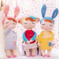 bebê animal de boneca de pelúcia angela venda por atacado-Recheado Brinquedos de pelúcia Animais Kids Brinquedos para Crianças das meninas dos meninos Kawaii Bebê Plush boneca dos desenhos animados Angela Coelho envio macia Brinquedos DHL