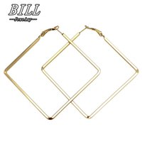 Wholesale big sexy jewelry for sale - Group buy Exaggerated Hoop Earrings For Women Fashion Jewelry Big Punk Earring Sexy Brincos pendientes mujer European American HOT Sale